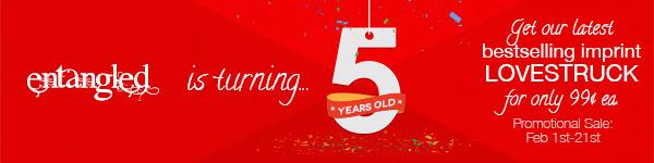 Entangled 5yr Anniversary Banner